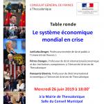 Affiche Le systeme economique mondial en crise (1)